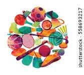 color sport background....   Shutterstock .eps vector #558693217