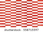 watercolor red striped... | Shutterstock . vector #558715597