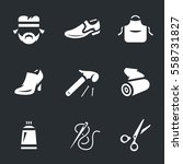 Vector Icons Set Of Shoemaker.