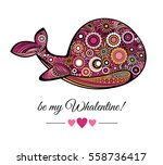 be my valentine greeting card... | Shutterstock .eps vector #558736417