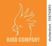 vector line art logo of...   Shutterstock .eps vector #558743893