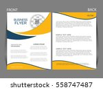 vector business flyer  magazine