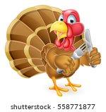 cartoon thanksgiving or... | Shutterstock . vector #558771877