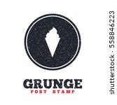 grunge post stamp. circle...   Shutterstock .eps vector #558846223