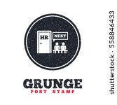 grunge post stamp. circle...   Shutterstock .eps vector #558846433