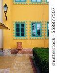 beautiful building facade   Shutterstock . vector #558877507
