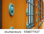 beautiful colorful building   Shutterstock . vector #558877537