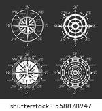 nautical logos templates set.... | Shutterstock .eps vector #558878947