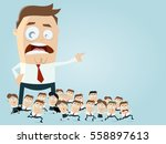 leadership business clipart | Shutterstock .eps vector #558897613