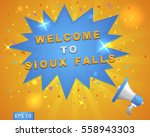 "megaphone with ""welcome to... 
