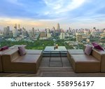 bangkok city view point from... | Shutterstock . vector #558956197