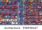 container container ship in... | Shutterstock . vector #558958267