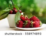 Group Of Fresh Spring Fruits...