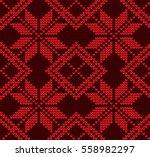 seamless vector geometric... | Shutterstock .eps vector #558982297