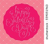 valentine vector illustration... | Shutterstock .eps vector #559051963