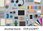 creative flat lay responsive... | Shutterstock . vector #559132897