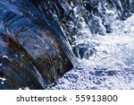 Cool Rushing Water In Natural...