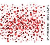 valentine's day background ... | Shutterstock .eps vector #559165243