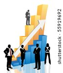 business people | Shutterstock .eps vector #55919692