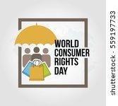 world consumer rights day... | Shutterstock .eps vector #559197733