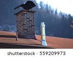 chimneys  built of brick and... | Shutterstock . vector #559209973