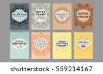 wedding invitation card or... | Shutterstock .eps vector #559214167