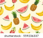beautiful hand drawn pattern... | Shutterstock .eps vector #559236337