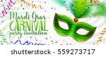 white vector mardi gras... | Shutterstock .eps vector #559273717