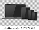 laptop vector illustration... | Shutterstock .eps vector #559279573
