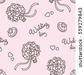 wedding da. pink seamless... | Shutterstock .eps vector #559279843