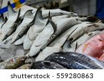 Fish Market Seafood Sold In Th...