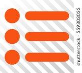 orange items interface icon....