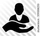 black client care hand toolbar... | Shutterstock .eps vector #559308253