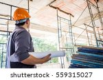 young engineer to check the... | Shutterstock . vector #559315027