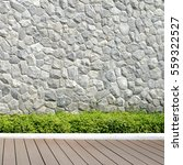 stone walls  green trees and... | Shutterstock . vector #559322527