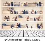 blurred  image spa collage... | Shutterstock . vector #559342393