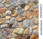 brown stone wall texture and... | Shutterstock . vector #559343917