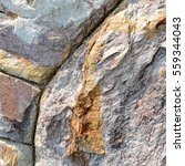 brown stone wall texture and... | Shutterstock . vector #559344043