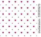 seamless heart pattern... | Shutterstock .eps vector #559359673