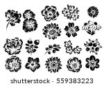 flower set | Shutterstock . vector #559383223