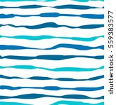 vector seamless pattern of blue ... | Shutterstock .eps vector #559383577