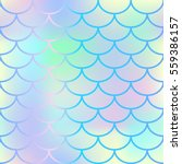 bright fish scale vector...