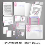 trendy corporate identity... | Shutterstock .eps vector #559410133