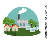 plant energy factory icon | Shutterstock .eps vector #559424827