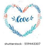 hand drawn vector illustration. ... | Shutterstock .eps vector #559443307