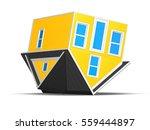 3d rendered illustration of an... | Shutterstock . vector #559444897