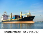 Small photo of Container ship