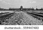 Main Gate Of Auschwitz Birkena...
