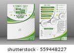 tennis tournament  brochure... | Shutterstock .eps vector #559448227
