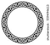 celtic national ornament in the ... | Shutterstock .eps vector #559494613